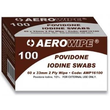 Betadine Iodine Swabs