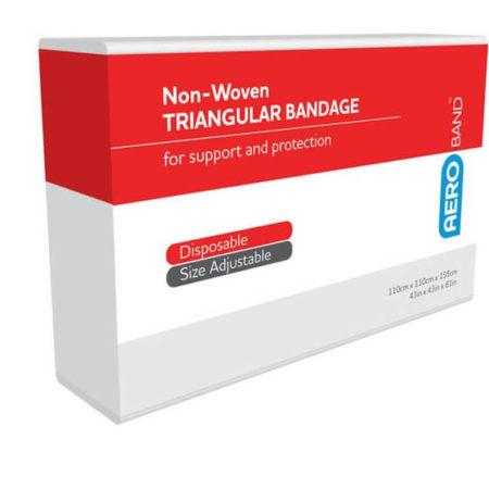Non-Woven Triangular Bandages 110cm x 110cm x 155cm