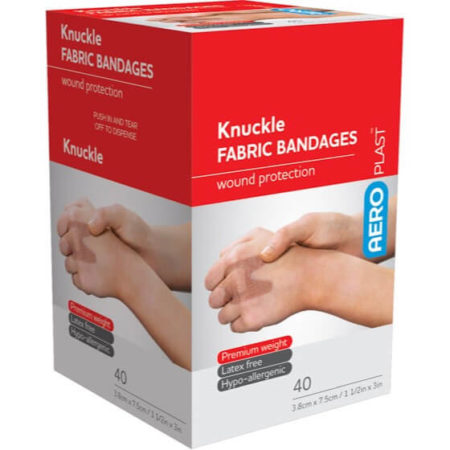 Fabric bandages knuckle