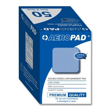 Aeropad Low Adherent Dressing Pad 5cm X 5cm