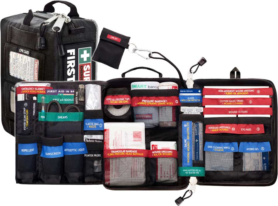 Car First Aid Kit >> Survival Vehicle Traveller First Aid Kit