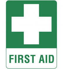 First Aid Polyprop Sign 450mm x 600mm